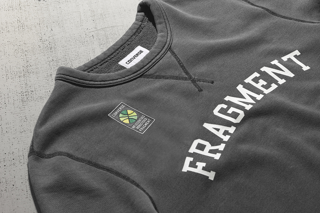 Converse x fragment design New Essentials Collection