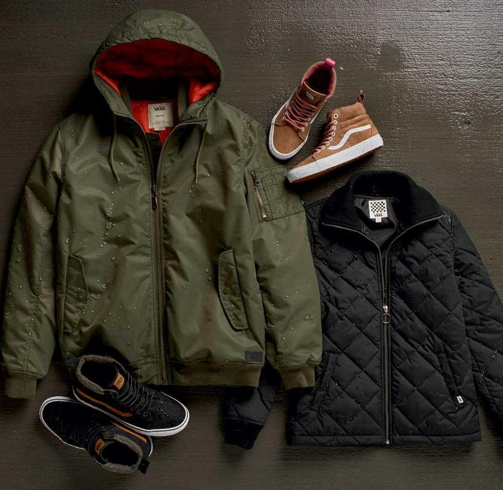 VANS FALL 2016 ALL WEATHER COLLECTION