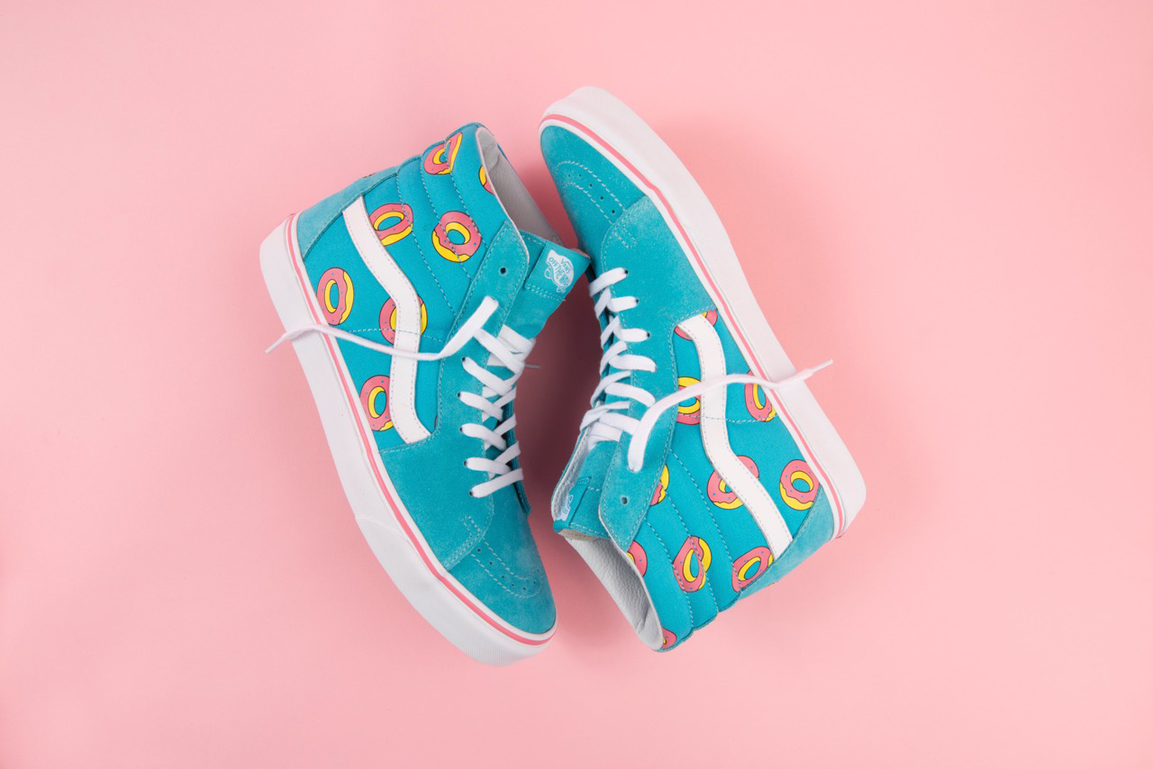 Odd Future x Vans - Exclusive Donut Print Footwear