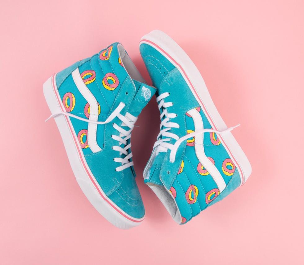 Odd Future x Vans - Exclusive Donut Print Footwear