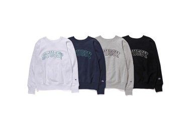 ae9dc6c00d453 Stüssy x Champion – 2016 Fall Winter Collection of Sweats ...
