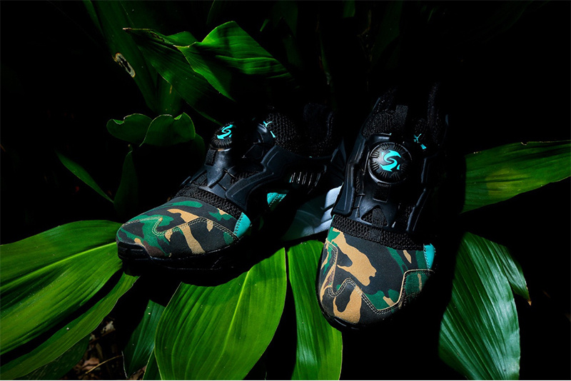 "atmos x PUMA Disc Blaze ""Night Jungle"""