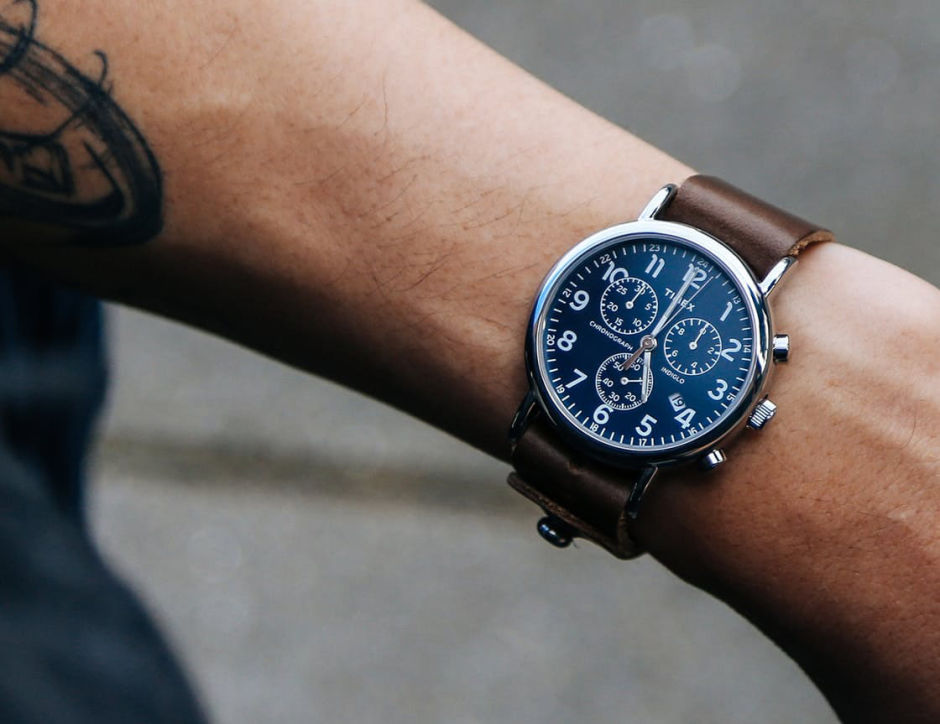 HORWEEN LEATHER x TIMEX