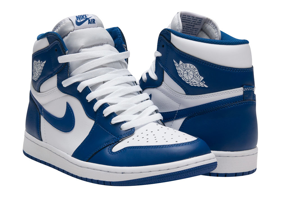 "THE AIR JORDAN 1 ""STORM BLUE"""