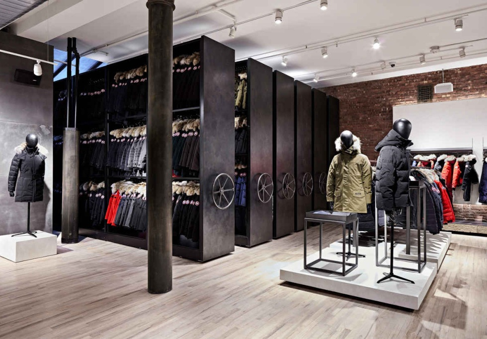 Canada Goose NYC Flagship Store