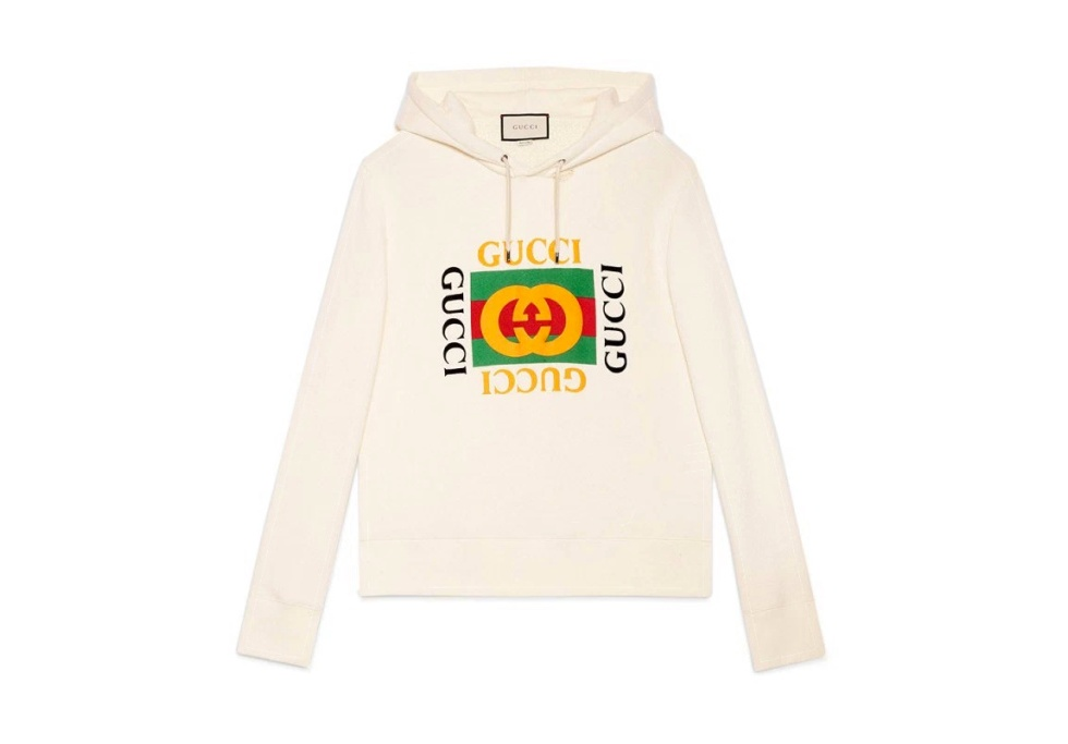 Gucci's Iconic Logo T-Shirt and Hoodie Is Now Available