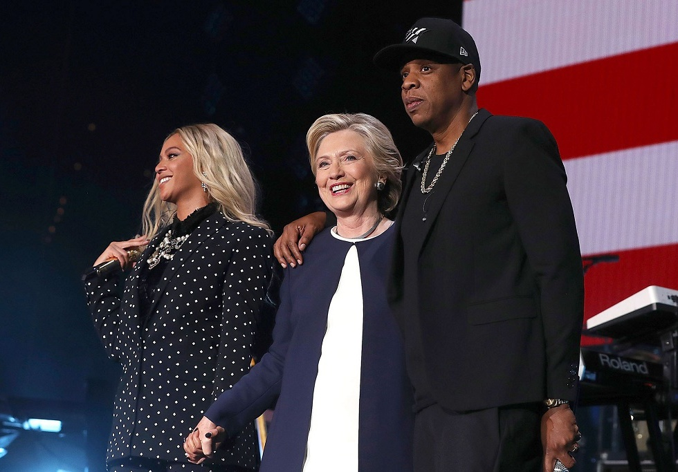 Jay Z, Beyonce, Chance the Rapper, J. Cole and Big Sean Passionately Rally Behind Hillary Clinton