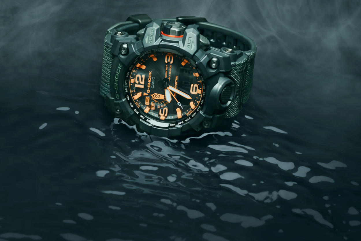G-SHOCK x MAHARISHI TEAM UP ON A SPECIAL EDITION MUDMASTER