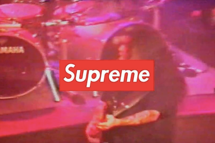 Supreme Previews Upcoming Collaboration With Slayer