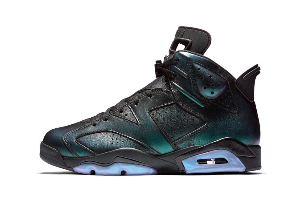 "The Air Jordan 6 ""Chameleon"" Releases for the 2017 NBA All-Star Game"