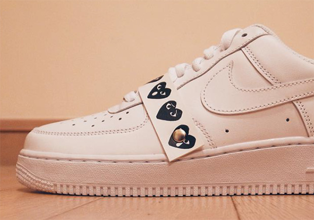 COMME DES GARÇONS TO COLLABORATE WITH THE NIKE AIR FORCE 1