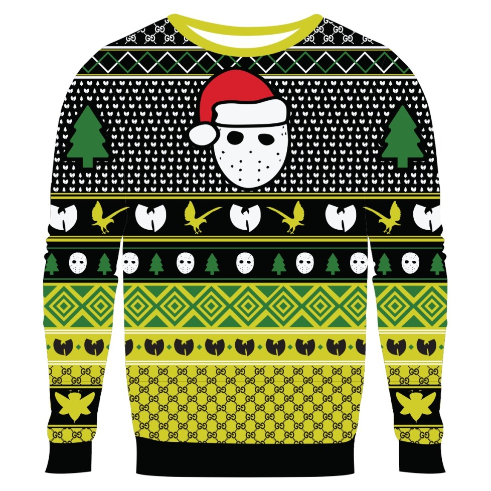 Ghostface Killah UGLY CHRISTMAS KNIT SWEATER