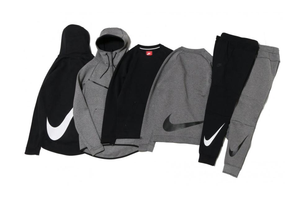 """Nike Tech Fleece """"Big Swoosh"""" Collection"""