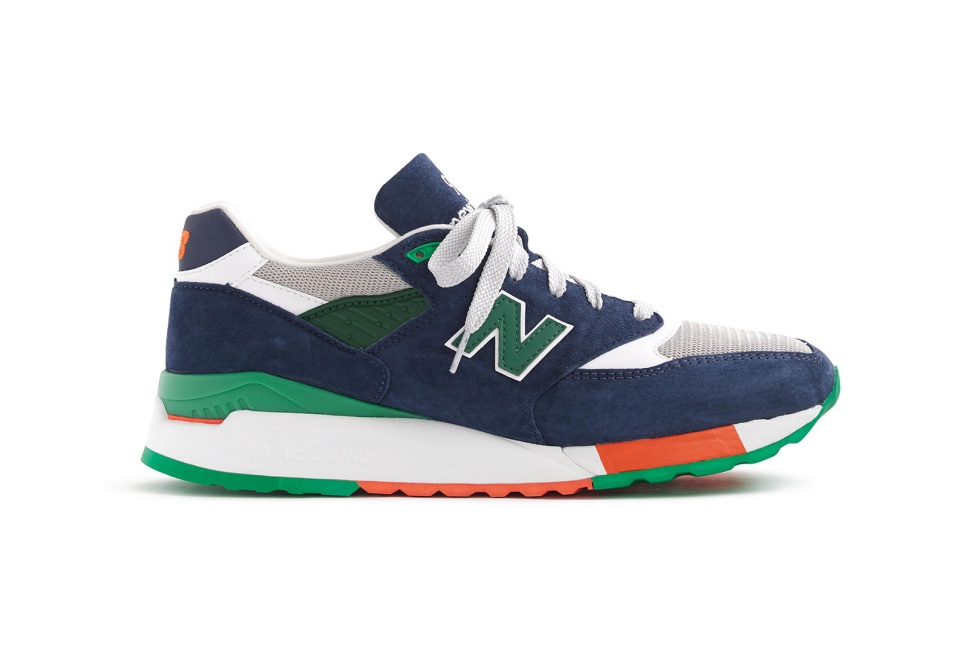 "New Balance Crafts A ""Toucan"" 998 for J.Crew"