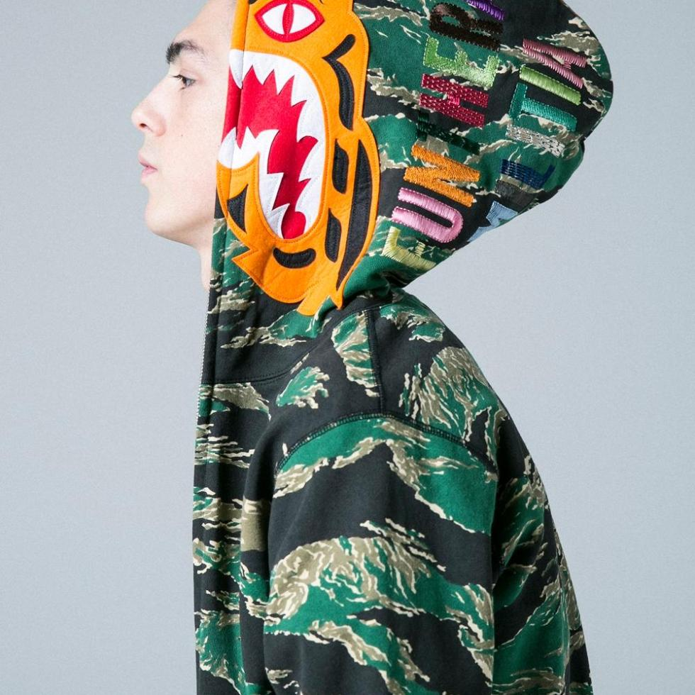 BAPE'S SPRING/SUMMER 2017 LOOKBOOK