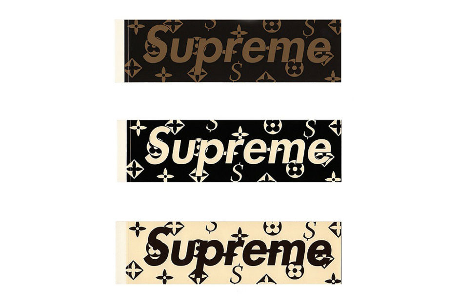 SUPREME X LOUIS VUITTON COLLABORATION ?