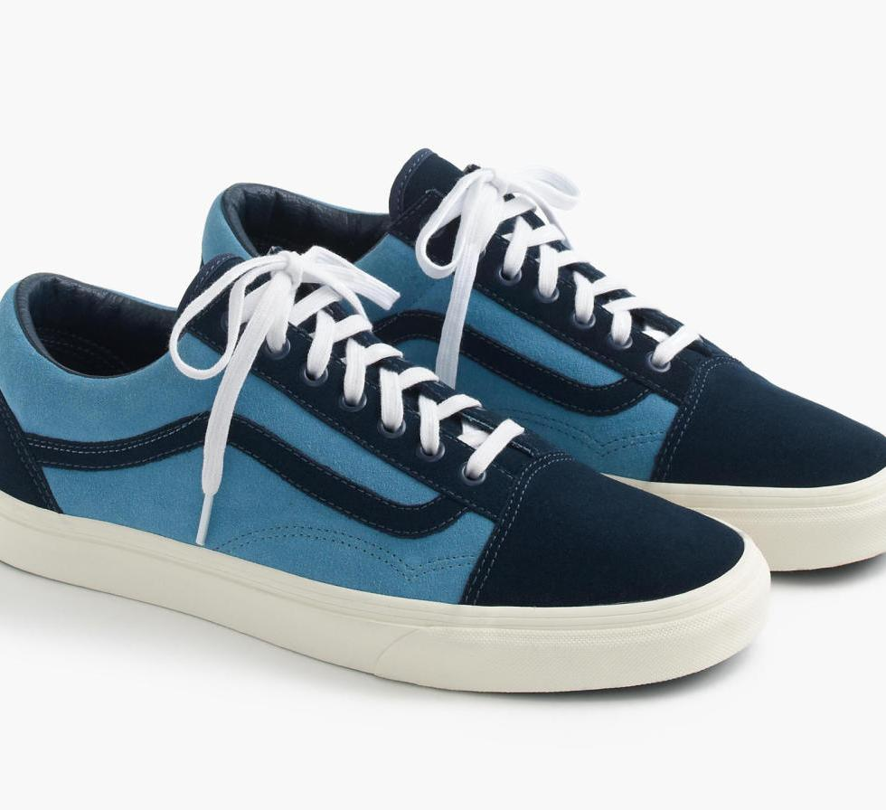 VANS LAUNCHES NEW SUEDE OLD SKOOLS EXCLUSIVELY AT J.CREW