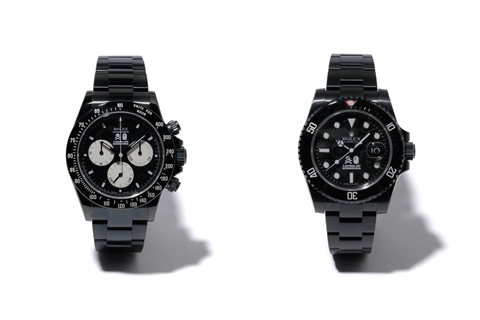 BAPE x Neighborhood x Bamford Watch Department