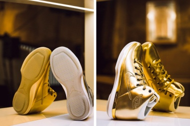 The Air Jordan 31 Gold