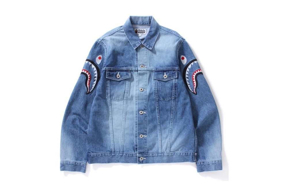 BAPE Shark Trucker Jacket