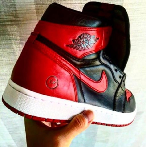 "FRAGMENT DESIGN X AIR JORDAN 1 ""BRED"" COLAB?"