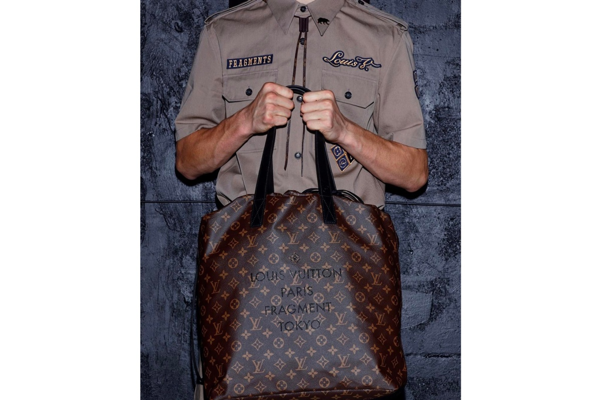fragment design x Louis Vuitton Tote Bag and Shirt