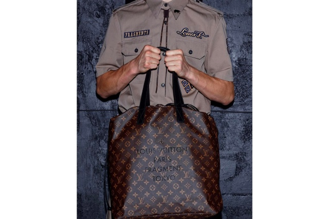 First Look at the fragment design x Louis Vuitton Tote Bag and Shirt