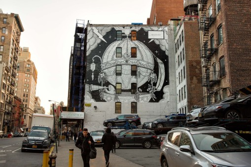 Gucci Reveals Colossal 2,500-Square-Foot Outdoor Mural