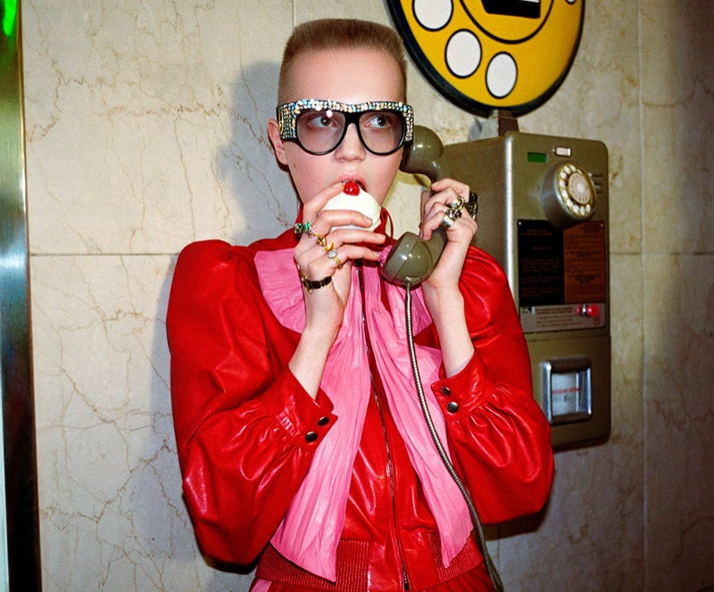 Petra Collins Directs Gucci's 2017 Spring/Summer Eyewear Collection Film