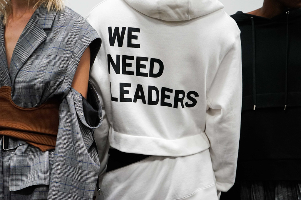 "The PSNY x Jordan ""We Need Leaders"" Hoodie"