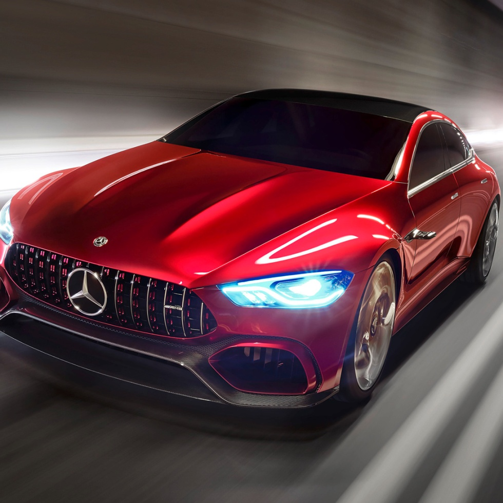 Mercedes-AMG Introduces a Four-Door GT Concept