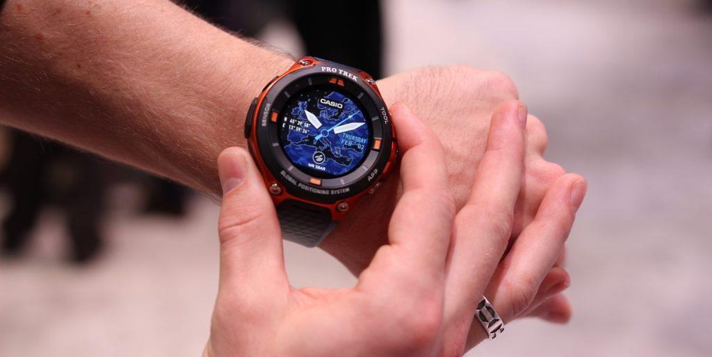 Casio's Pro Trek WSD-F20 rugged Android Wear smartwatch