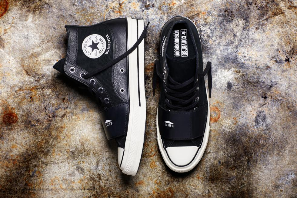 CONVERSE x NEIGHBORHOOD Creates A ONE STAR '74 AND CHUCK '70