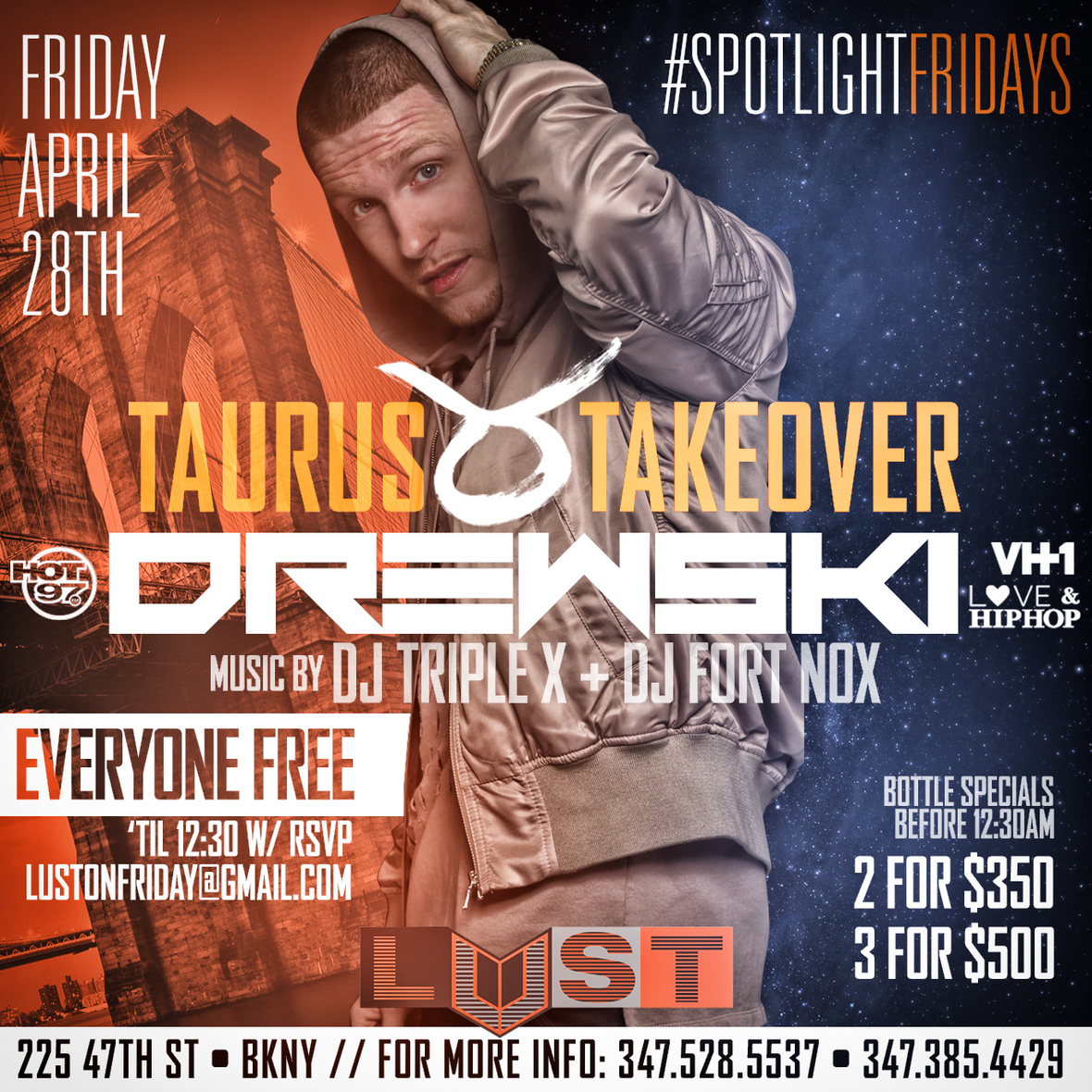 #SpotlightFridays @ Club Lust