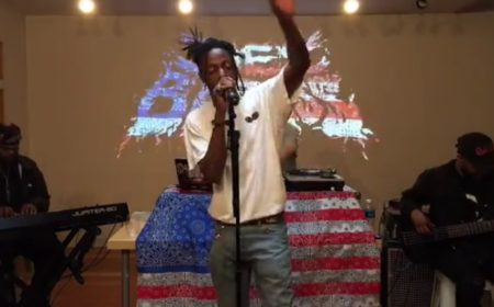 Joey Bada$$ Performs @ the New York Times