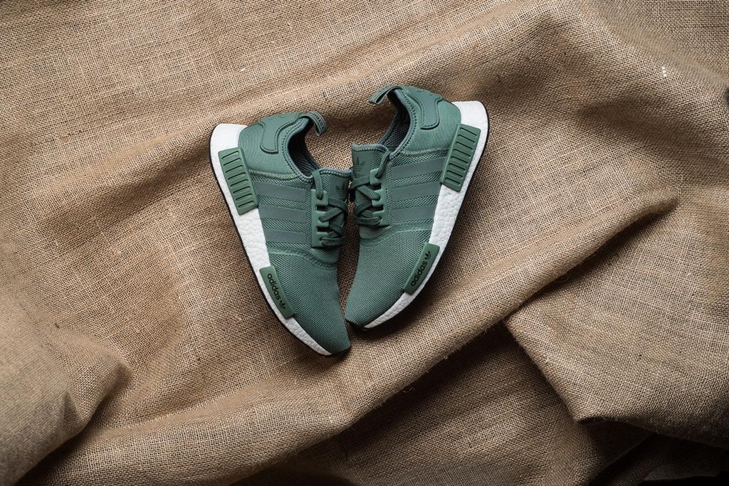 "Adidas Originals NMD R1 ""Trace Green"""