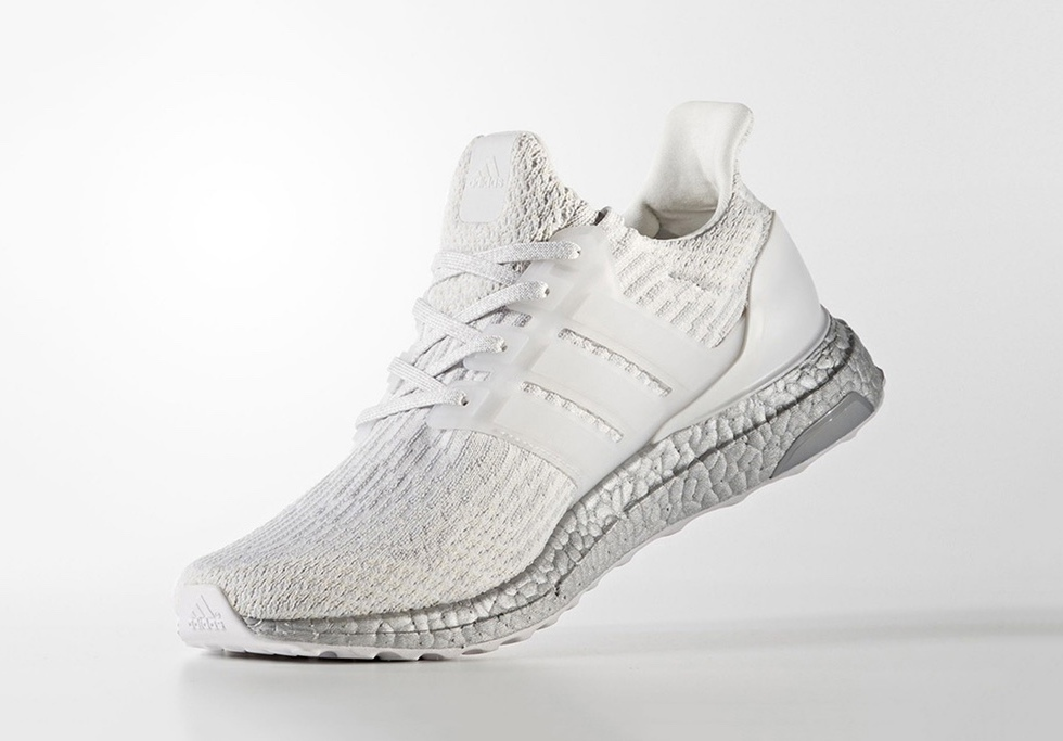 "adidas UltraBOOST ""Crystal White"" Gets a Date"