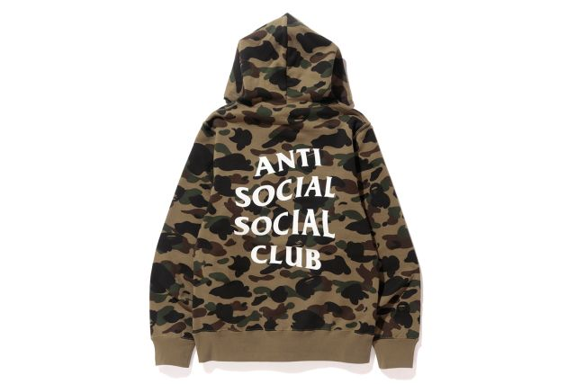 ANTI SOCIAL SOCIAL CLUB x BAPE - NEW YORK-EXCLUSIVE CAPSULE COLLECTION