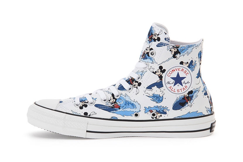 Converse All Star Mickey Mouse Surfin Hi