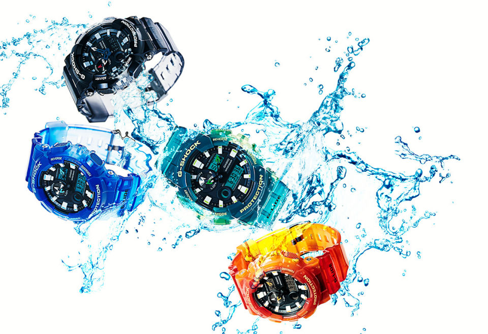 G-SHOCK HAWAII-INSPIRED COLLECTION OF G-LIDE WATCHES