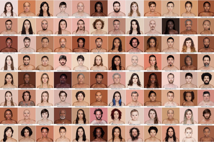 The Human Pantone Project