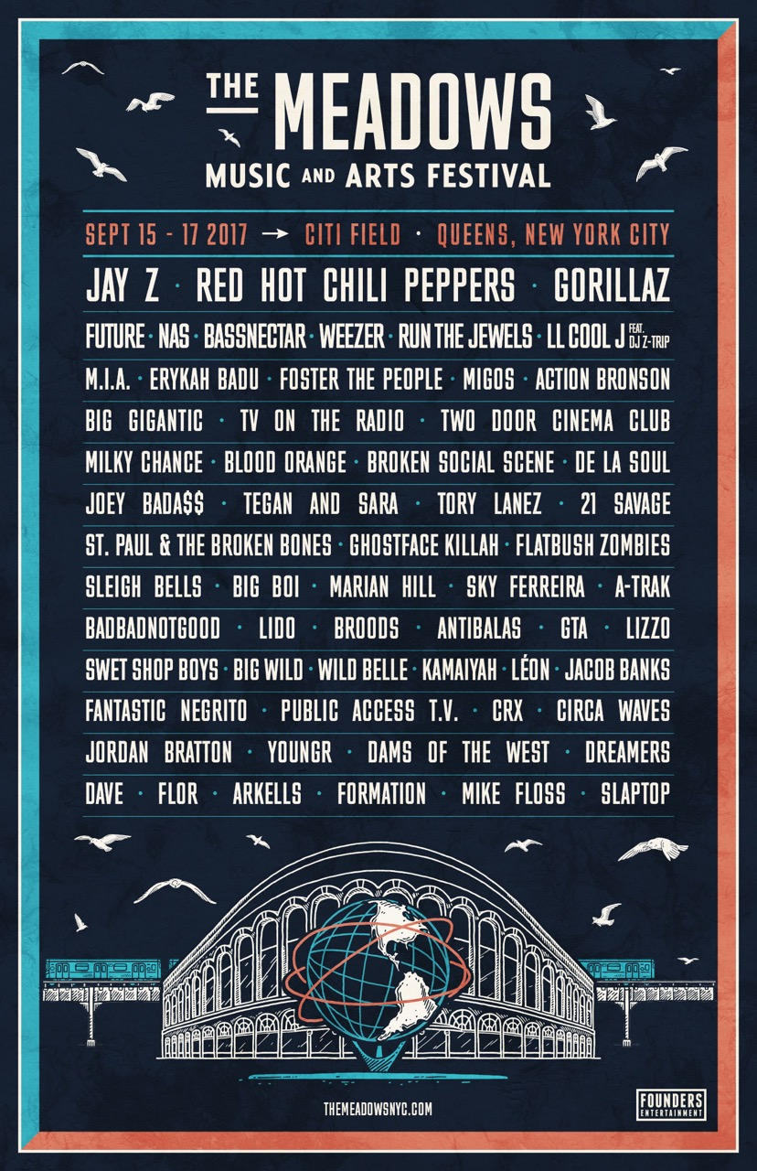 JAY Z to Headline The Meadows Music and Arts Festival