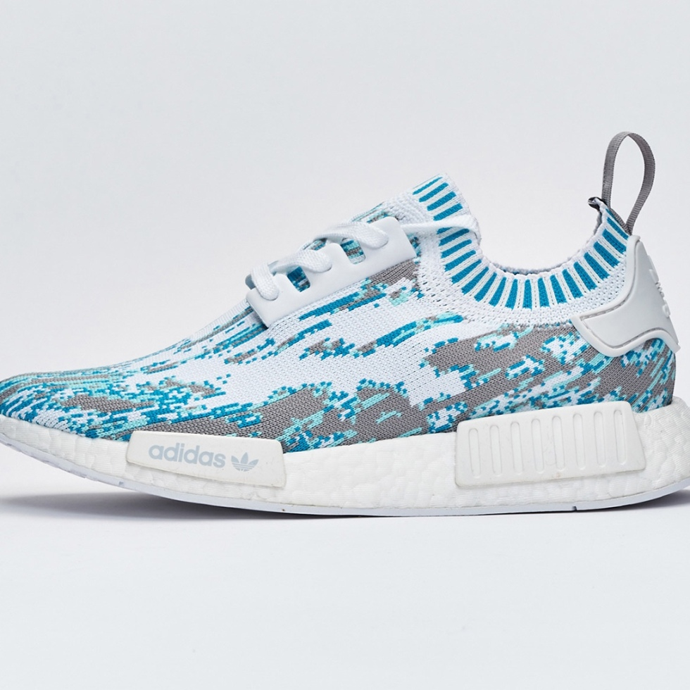 Sneakersnstuff New Datamoshing-Inspired adidas NMD_R1 Primeknit Pack