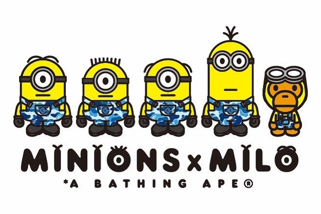 BAPE x Minions Collaboration