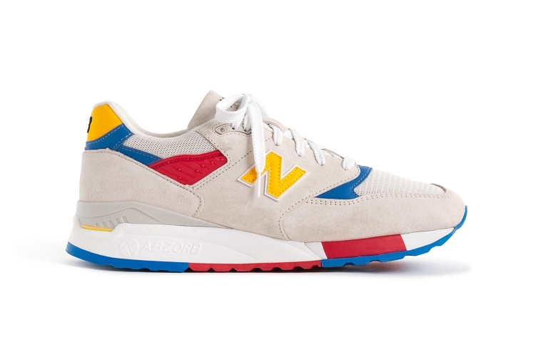 J.Crew x New Balance Beach Ball-Inspired 998