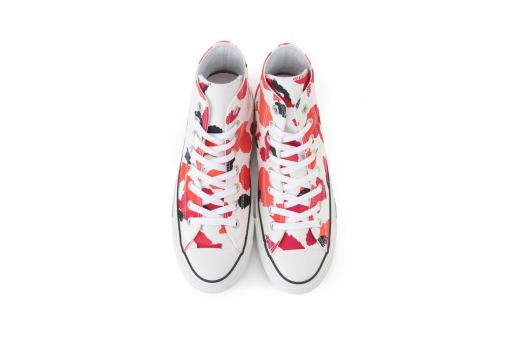 Converse's Chuck Taylor All Star Multi-Colored Paint Splatter Motif