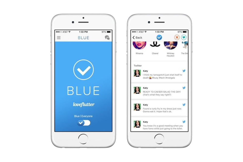 Verified Twitter Users Get A Dating App - Loveflutter