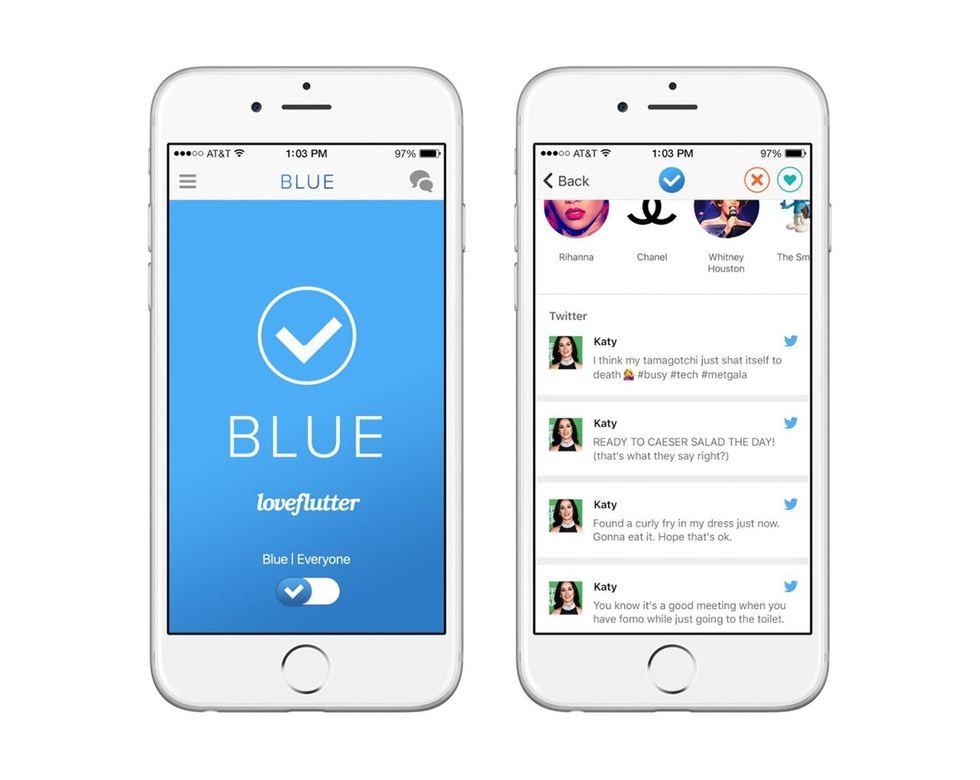 Verified Twitter Users Get A Dating App - Loveflutter