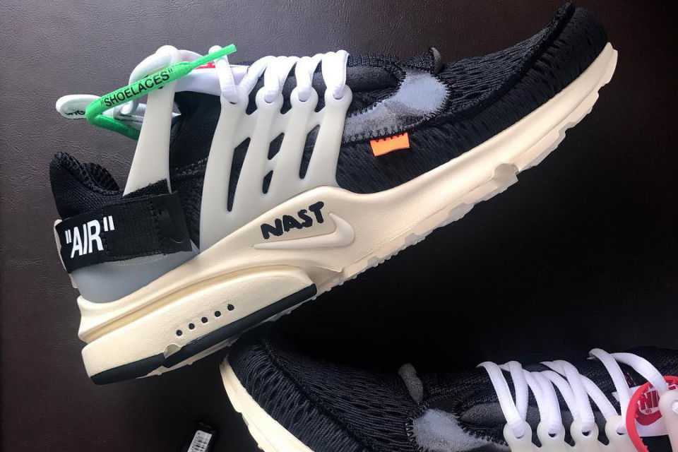 LOOK AT THE OFF-WHITE X NIKE AIR PRESTO