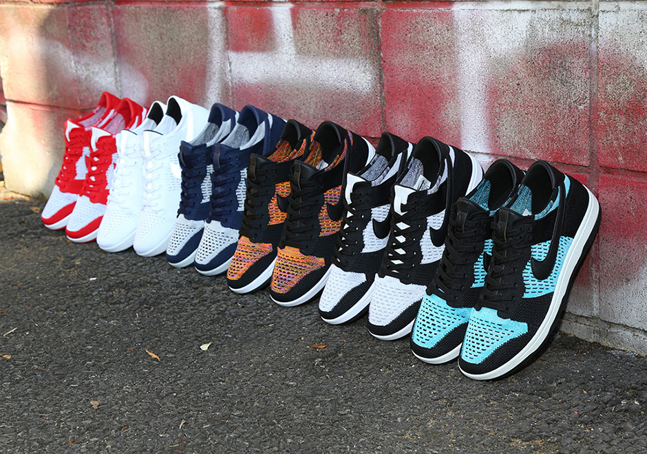 THE NIKE DUNK FLYKNIT COLLECTION